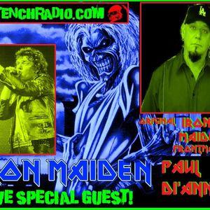Paul Di'anno Former Iron Maiden Vocalist