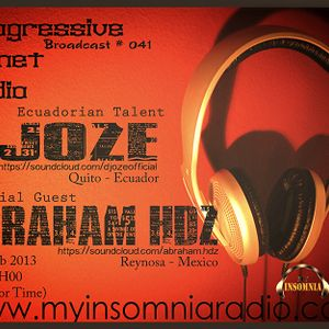 Abraham Hdz - Special Mix to My Insomnia Radio - PPR #041 Feb 2013