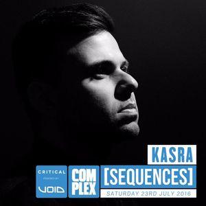 Kasra (Critical Music - London) @ Sequences Festival x Complex UK Promo Mix (06.06.2016)