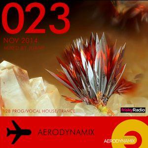 Aerodynamix 023 @ Frisky Radio Nov 2014 mixed by JuanP