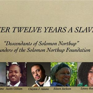 After Twelve Years A Slave with the Descendants of Solomon Northup