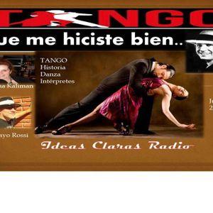 Tango que me hiciste bien..Lunes 11 de agosto de 2014