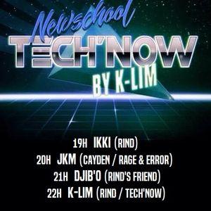 Dj K-Lim - Tech'Now 23-02-17 - Techno 138 BPM