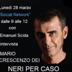 """INTERVISTA A MARIO CRESCENZO DEI N.P.C 28 03 2016 durante la puntata speciale pasq.""""Social Network"""""""