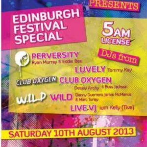 deejay archy club houch/oxygen promo mix 9th august 2013