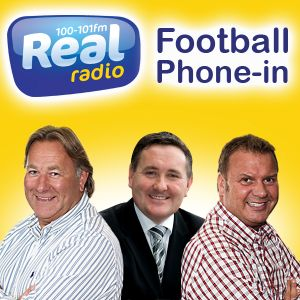 REAL RADIO FOOTBALL PHONE IN REPLAY - 10/05/12