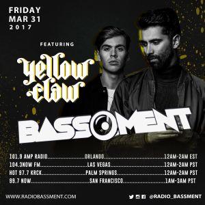 The Bassment 03/31/17 w/ Romeo Reyes