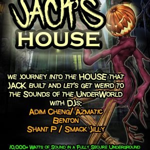 Jacks House Oct 28 2016 warehouse party live mix