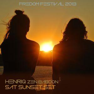 Saturday Sunset Set @ Freedom Festival 2013