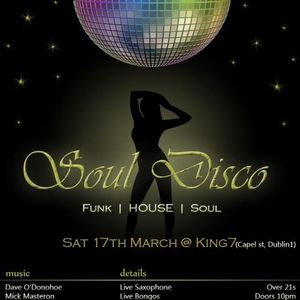 Soul Disco set -  St. Patricks nite 2012