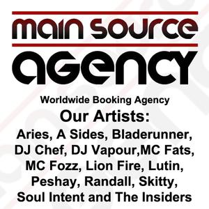 DJ Vapour - Nov 2012 Main Source Agency Exclusive Studio Mix