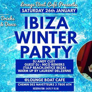 Laurent Delzenne @ Lounge boat _ath 01 2019