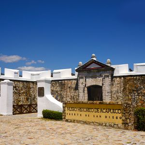 Museo histórico de Acapulco, fuerte de San Diego
