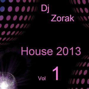 DJ ZORAK - HOUSE 2013 VOL 1