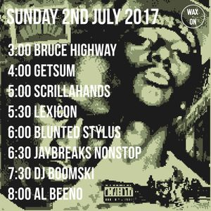 """Wax On 29 - 02.07.2017 - Getsum """"45re-up"""""""