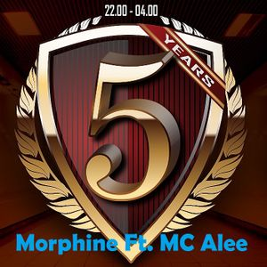 DJ Morphine Ft. MC Alee, Early & Millennium, Live @ Beats Against Cancer 2015, Grenswerk, LCV Events