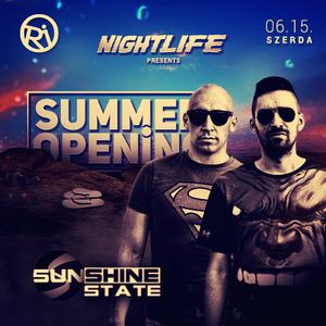 Sunshine State Live at NIGHTLIFE at Cafe del RIO (2016.06.15.)