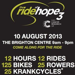 The Ride of Dreams (The Ride of Hope 3) 10 Aug 2013