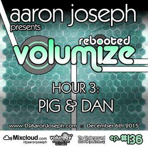 Volumize (Episode 136 - HOUR 3: PIG & DAN) (DEC 2015)