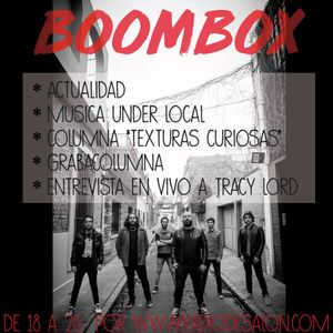Boombox nº34 06/11/17