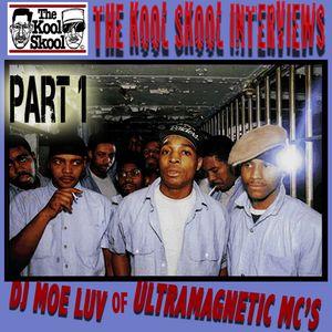 The Kool Skool - Interviews DJ Moe Luv of Ultramagnetic MC's Part 1