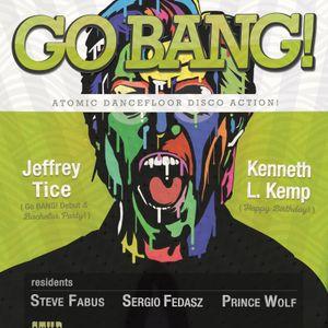 Steve Fabus at Go BANG! August 2015