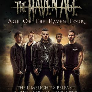 Interview with George Harris from The Raven Age on the Friday NI Rocks Show 27th Oct 2017