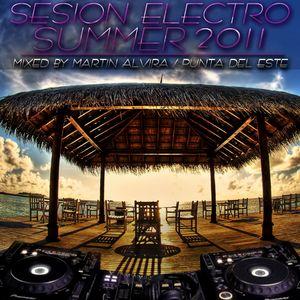 Sesión Electro Summer 2011 [Mixed by Martin Alvira]