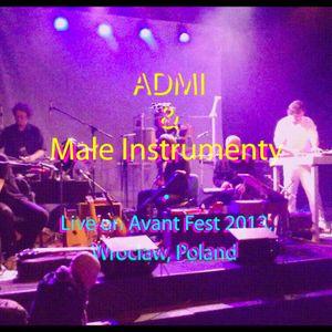 ADMI & Małe Instrumenty - Wrocław live 2013