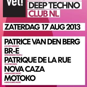 motoko @ VET! (17.08.2013 - Club NL, Amsterdam)