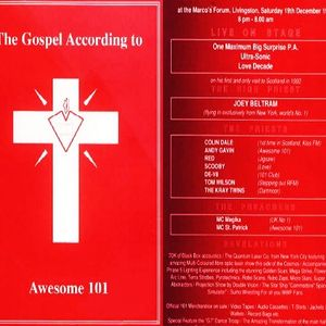 Altern 8 (Live PA) @ The Gospel According To Awesome 101 - Forum Livingston - 19.12.1992