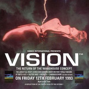Top Buzz @ Vision Return of the Warehouse Concept Pt 1(12th Feb 1993)