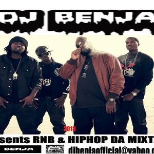 DJ BENJA presents RNB HIPHOP DA MIXTAPE 2013     djbenjaofficial@yahoo.co.uk