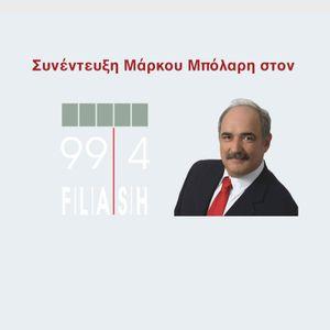 Μάρκος Μπόλαρης για Ευρωεκλογές, Αξιωματική Αντιπολίτευση, ελίτ, Τουρκία, Άγιο Φως & Έκθεση Βιβλίου.