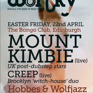 Wolfjazz & Hobbes, Wonky, Edinburgh (April '11): Early