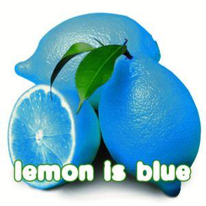Lemon is blue