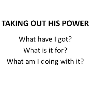 Taking Out His Power - Paul McMahon - 21st May 2017
