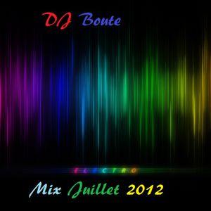 DJ Boute mix juillet 2012