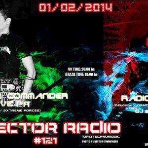 Vector Commander Live PA @ Vector Radio #121 - 01-02-2014
