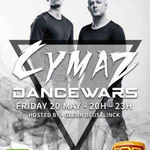 DanceWars 20/05/2016 -21-22u met Glenn Beuselinck & GUEST DJs CYMAZ