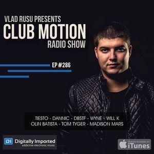 Vlad Rusu - Club Motion 286 (DI.FM)