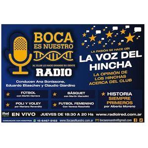 Boca es Nuestro. Programa 28. Jueves 16/3/17 en iRed Media