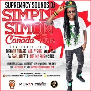 Supremacy Sounds - Simple Simon - CANADA PROMO MIX by Supremacy