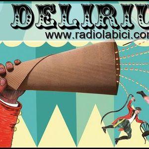 Delirium 27 06 15 por Radio La Bici