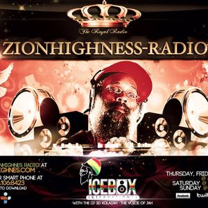 Freestyle Friday on  Zionhighness Radio With Icebox International August 15, 2014