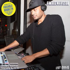 Omari Toomer LIVE from #makeWAVESbk at Freehold Brooklyn on February 6, 2016