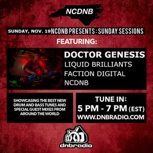 NCDNB Sunday Sessions - 12/03/17 - Doctor Genesis