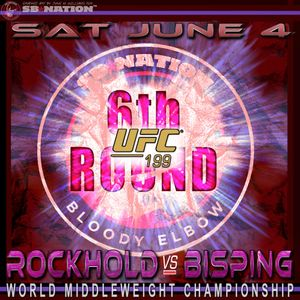 UFC 199 Rockhold Vs Bisping 6th Round Post - Fight Show