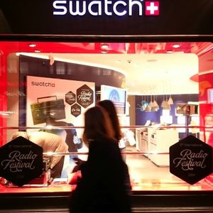 IRF14 Swatch Store Pop-Up Radio show with Gaby Sanderson and Joana Heidrich 30Aug14