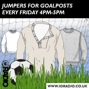 Jumpers for Goalposts with Rob and co on IO Radio – 160819